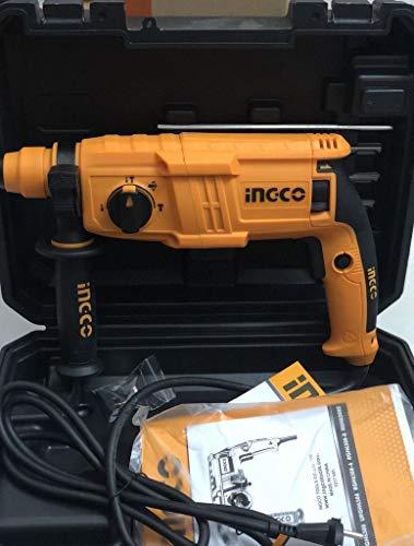 INGCO POWERTOOLS & HANDTOOLS 650W Rotary hammer With 3 SDS-PLUS drills 2