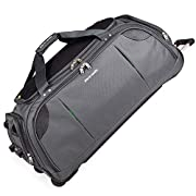 Lightweight Large Holdall with Wheels – Roller Bag by Pierre Cardin | Durable Stress Tested Skate Wheels | Trolley…