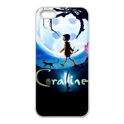M4M17 Coraline Haute Résolution Affiche I6M3TU coque iPhone 5 5s cellule de cas de téléphone couvercle coque blanche XD1SKA2KU