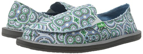 Sanuk Sidewalk Surfer Donna Women Cement Multi Radio Love