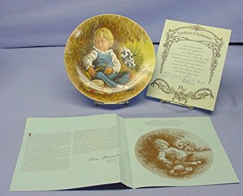 Little Boy Blue Mother Goose Collectors Plate