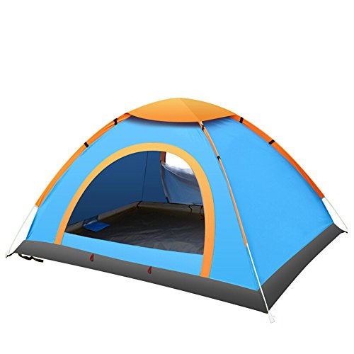 DKISEE 2 Person Tent Instant Camping Light Weight waterproof Family Tent Easy Set-Up Backpacking Tents for Camping Hiking Traveling with Carrying Bag
