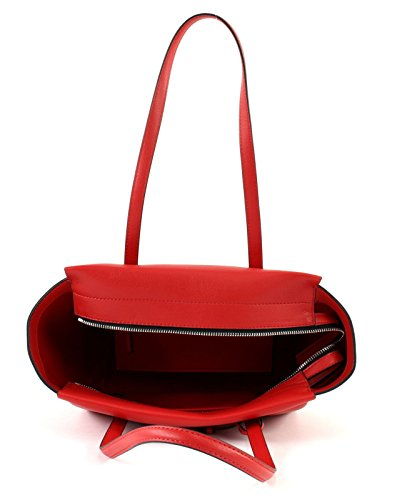 Calvin Medium Klein Rouge Frame Cabas Shopper w7wEaxqr
