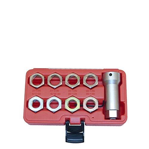 OEMTOOLS 27233 Axle Spindle Threading Set ()