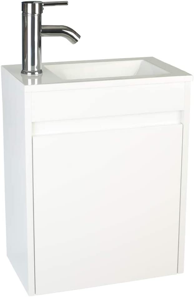 Best wall mounted sink: Eclife Bathroom Vanity Sink
