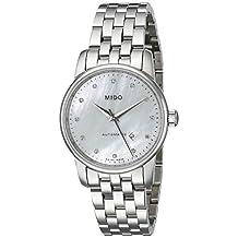 Mido Women's MIDO-M76004691 Baroncelli Analog Display Swiss Automatic Silver Watch