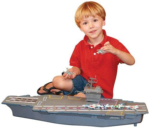 "WowToyz MotorMax Giant 31"" Aircraft Carrier"