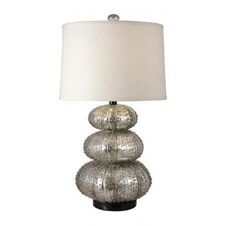 Regina Andrew Stacked Silver Sea Urchin Lamp