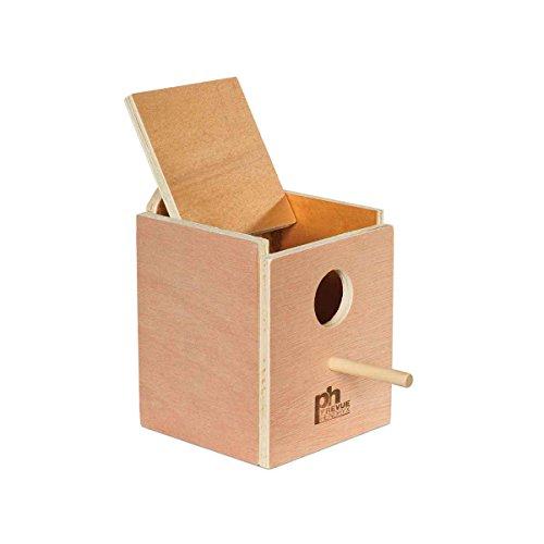 BPV1101 Wood Inside Mount Nest Box for Birds, Finch ()