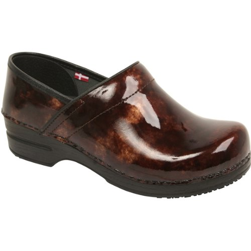 - Sanita Women's Professional Ariana Clog,Brown,37 EU/6.5-7 M US