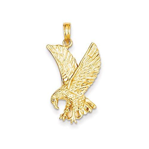 14k Eagle Charm - 9