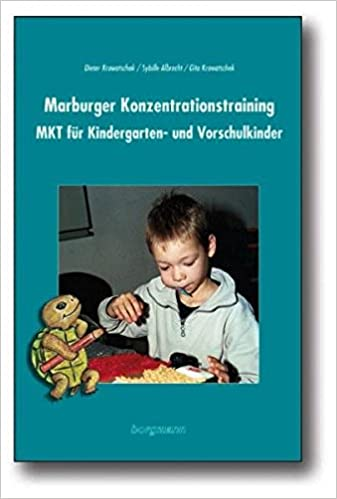 Marburger Konzentrationstraining MKT für Kindergarten,Vorschule und ...