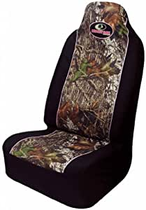 Mossy Oak Infinity Camo Pink Car Truck SUV Universal-fit Pull Over Bucket Seat Covers - PAIR