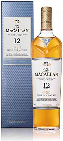 Macallan Triple Cask 12 Años Single Malt Whisky Escoces, 40% - 700 ml