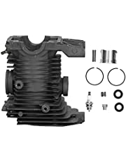 YIUS Cylinder Piston Seal Kit Chain Saw Gasket 46mm Big Bore Set for Stihl Ms270 Ms280 MS 280 270