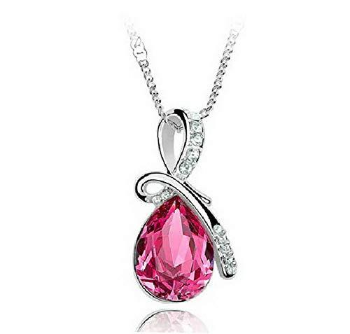 - Werrox Women Charm Jewelry Crystal Pendant Chain Chunky Statement Choker Necklace Gift | Model NCKLCS - 22623 |