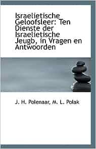 Antwoorden: M. L. Polak J. H. Polenaar: 9781113372291: Amazon.com