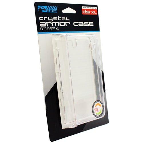 KMD Crystal Armor Case For Nintendo DSi XL, Clear (Crystal Dsi Case)