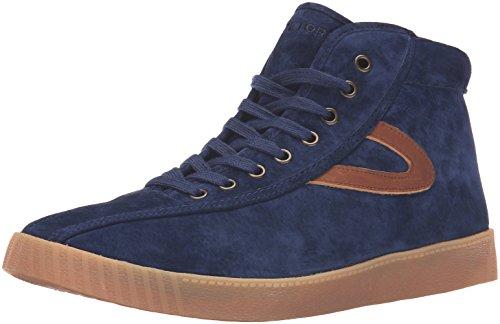 Tretorn Men's Nylite Hi7 Fashion Sneaker, Night/Night/Saddle, 10 M US
