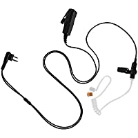 Maxtop ASK4032-M1 2 Wire Clear Tube Earpiece