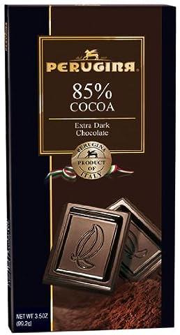 Perugina 85% Extra Dark Chocolate Bar Cs/12 Bars - Cocoa Extra Dark Chocolate
