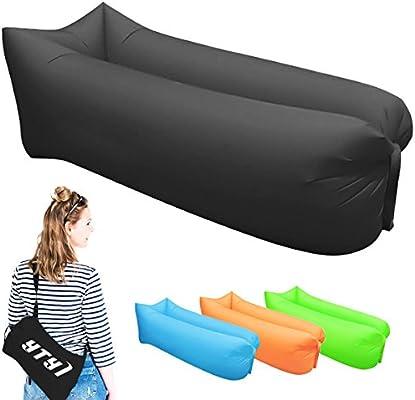 Tumbona Inflable- Camas de aire portátiles para dormir ...