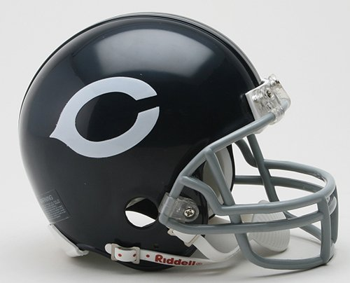 (Riddell Chicago Bears NFL Throwback 1962-1973 Mini Helmet)