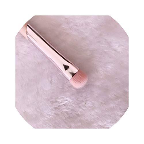 First Ring 1 Piece Pink Premium Makeup Brushes Kabuki Loose Powder Buffing Blush Brush Tapered Blending Highlighter Brush Make Up Tools,Eyeshadow Brush-S