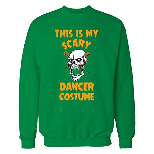 This Is My Scary Dancer Costume Halloween Gift - Sweatshirt Irish_green L (Irish Dancer Halloween Costume)
