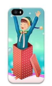 Case For Sam Sung Galaxy S5 Cover Christmas Illustration 3D Custom Case For Sam Sung Galaxy S5 Cover