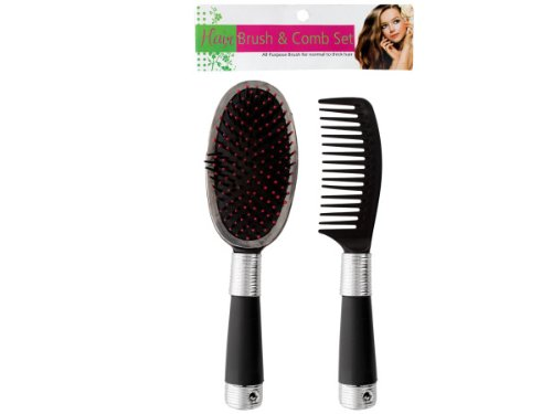 Brush And Comb Set - Case of 96 by salon collections