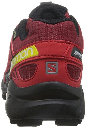 Salomon L38315000, Zapatillas De Trail Running para Hombre Varios colores (BriqueX /     Radiant Red /     Black)