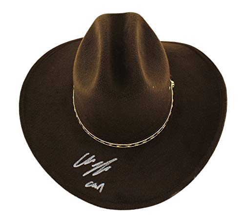 "Chandler Riggs""Carl Grimes"" Autographed/Signed The Walking Dead Full Size Replica Sheriff's Hat from Radtke Sports"