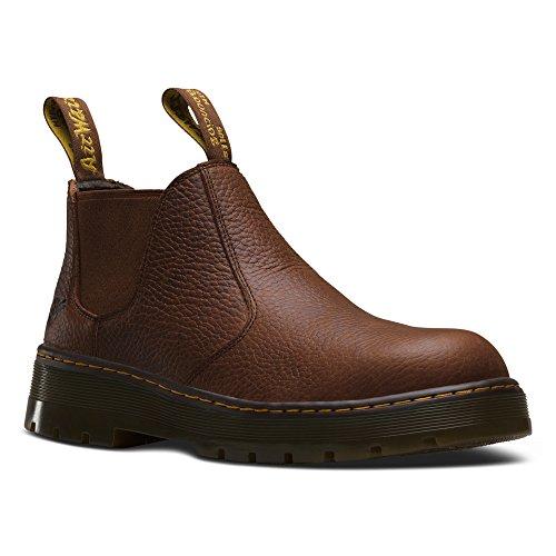Rivet Teak Chelsea Boot Steel Men's Toe Martens Dr 6xZA4w