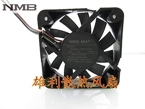 For NMB 2006ML-04W-S29 TA2 5015 5cm 12v 0.08a 3wire Cooling fan
