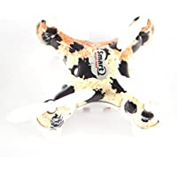 2.4GHz 4 Channels 6 Axis Gyro RC Quadcopter Helicopter Mini Remote-controlled Rechargeable Arm Drone Camouflag