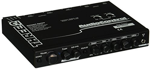 Audio Control THREE.2 In-Dash Pre-Amp Equalizer / Subwoofer Crossover with Dual Auxiliary Inputs (Line Driver Preamp)