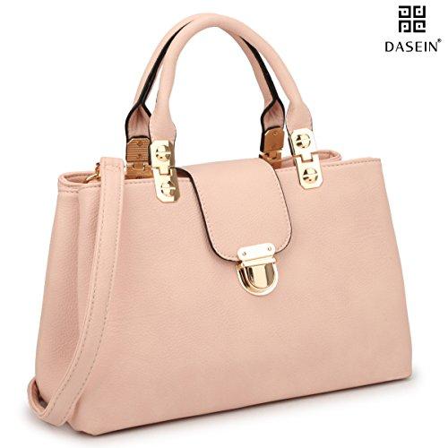 Tote Pink Fabric Handbags - 3