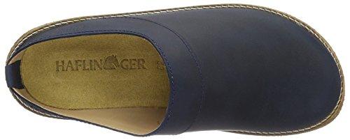 Haflinger Neo - Zuecos Unisex adulto Azul
