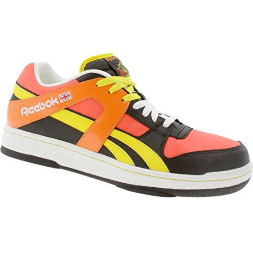Reebok Men's BB 5600 Low - Kolors (black / red / yellow / orange / white)-9.5 Reebok Bb