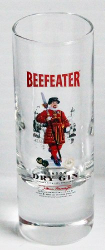 (Beefeater Dry Gin Promotional 2oz Shot Glass)