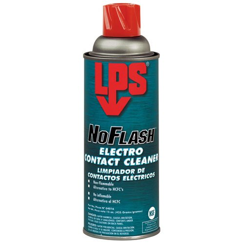Electro Cleaner Contact Lps (Lps No Flash Electro Contact Cleaners Non Flammable Can 15 Oz)