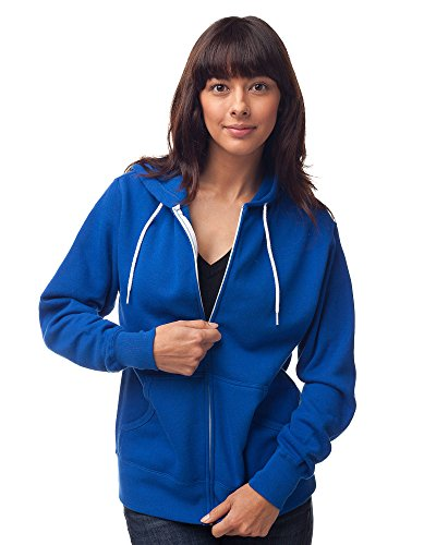 Mens Quarter Zip Striped Sweater - Global Blank Mens and Womens Slim Fit Lightweight Zip Up Hoodie Blue XS