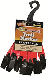HME Products Trail Marker (Pack of 10), 3-Inch, Orange