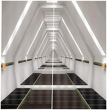QinKingstore 建築写真スタイリッシュな170X200CMホームカーテン用ホームカーテンリビングルームの寝室の窓の装飾