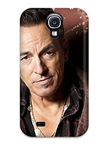 JessicaBMcrae Case Cover For Galaxy S4 - Retailer Packaging Bruce Springsteen Widescreen Protective Case