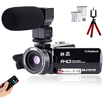 4k Camcorder Video Camera Kot Hd Wifi 3 0 Inch Ips Touch Screen 48mp 16x Powerful Digital