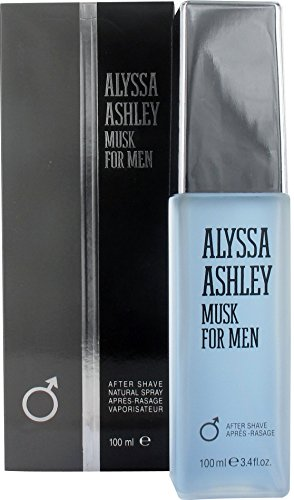 Alyssa Ashley Musk for Men Aftershave 3.4oz (100ml)