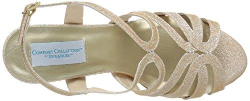 Champagne Womens Sandal Dress Paisley Inc Dyeables gU5qXaU