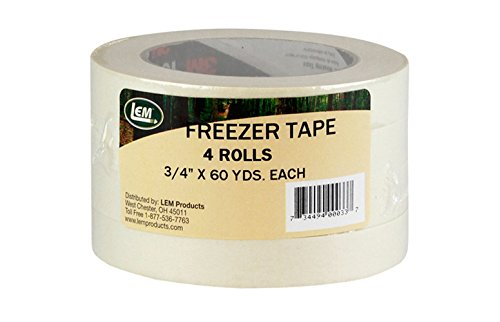 LEM Products W033-4 Pack Freezer Tape (Shrink wrap)